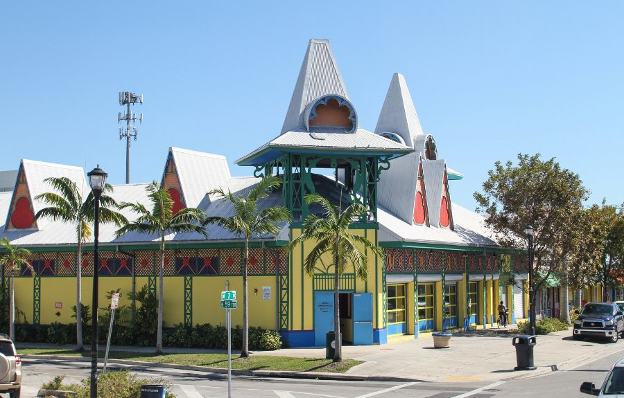 Caribbean Marketplace within the Little Haiti Cultural Complex