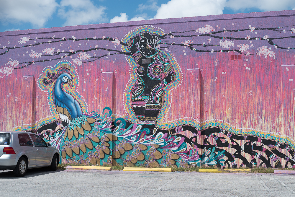 Mural of Ezili further elaborates on the theme of religious diversity in the Haitian diaspora and Miami's immigrant population. 