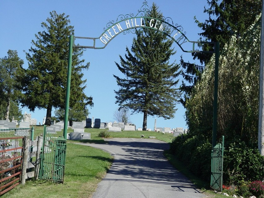 Green Hill Cemetery Gate