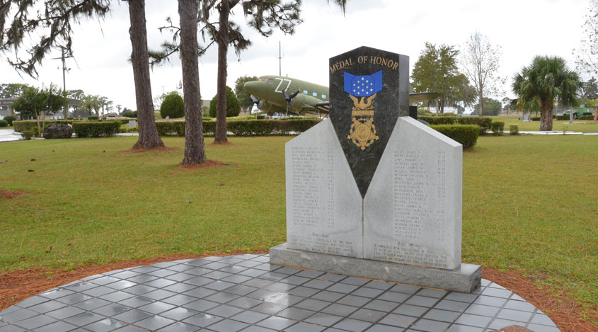 Medal of Honor Statue