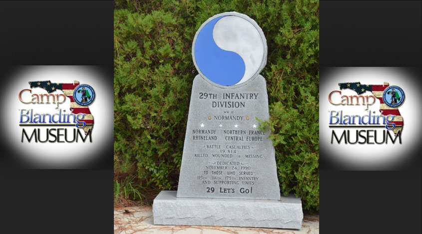 29th Infantry Division Statue