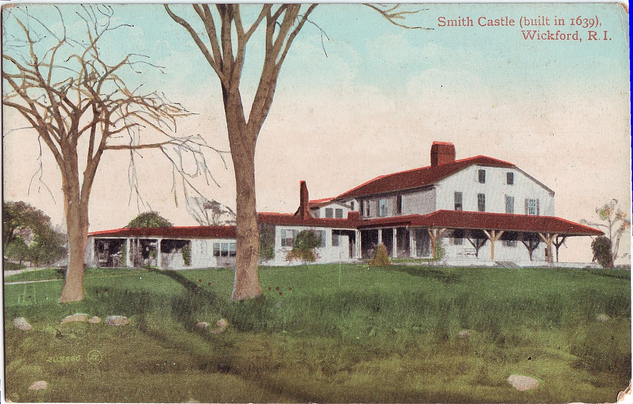 This 1905 postcard reveals how the castle has changed over the past century.