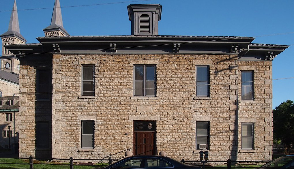 The former Assumption School operated from 1864-1888. Its original purpose was to served the children of German immigrants.