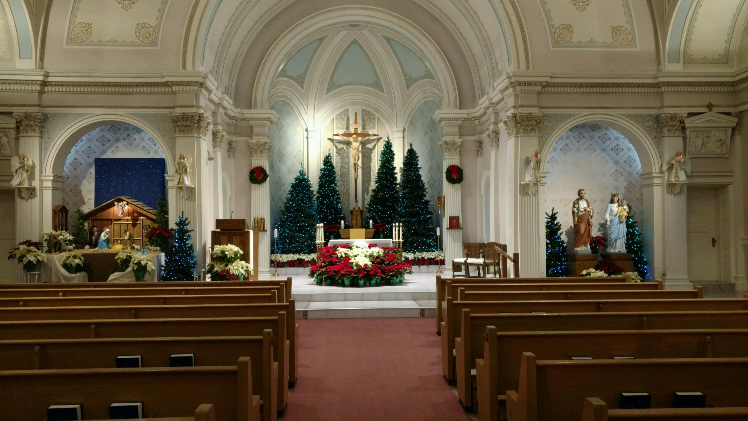 View of the altar. Photo: Church of St. Casimir