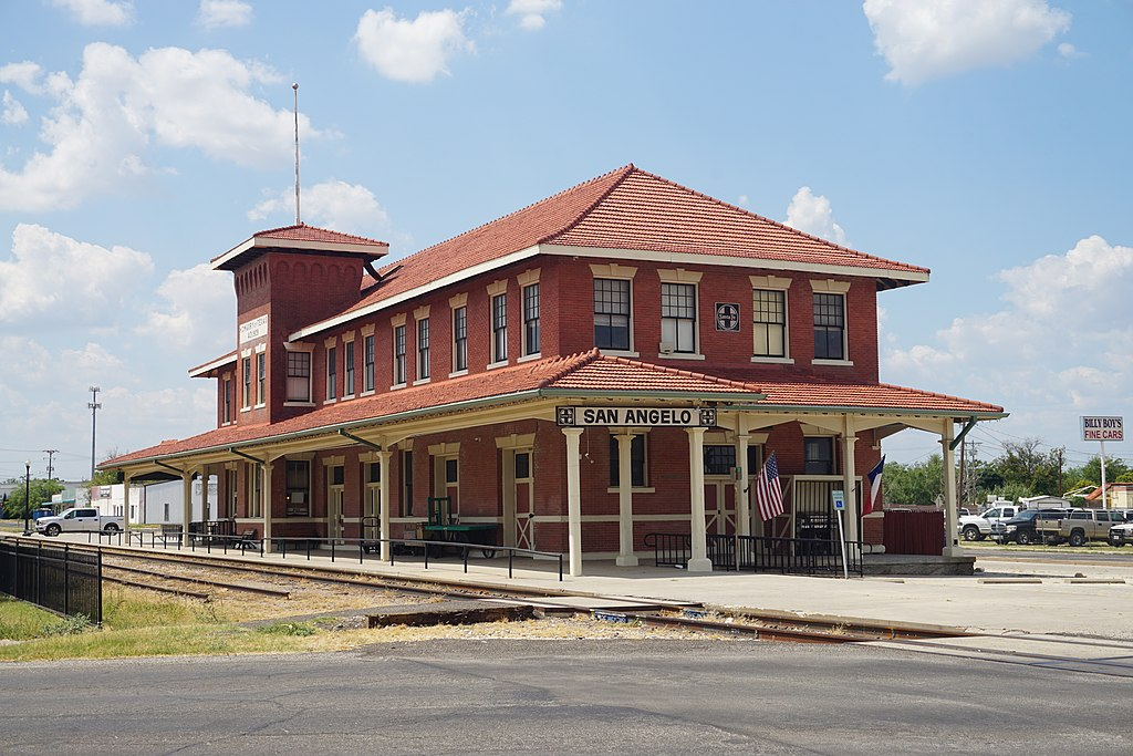 The Santa Fe Passenger Depot was built in 1919.