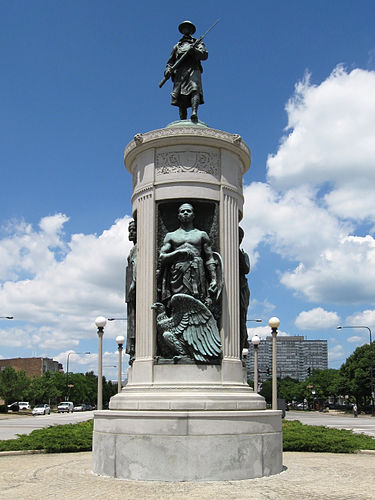 The Victory Monument was added to the National Register of Historic Places on April 30, 1986.