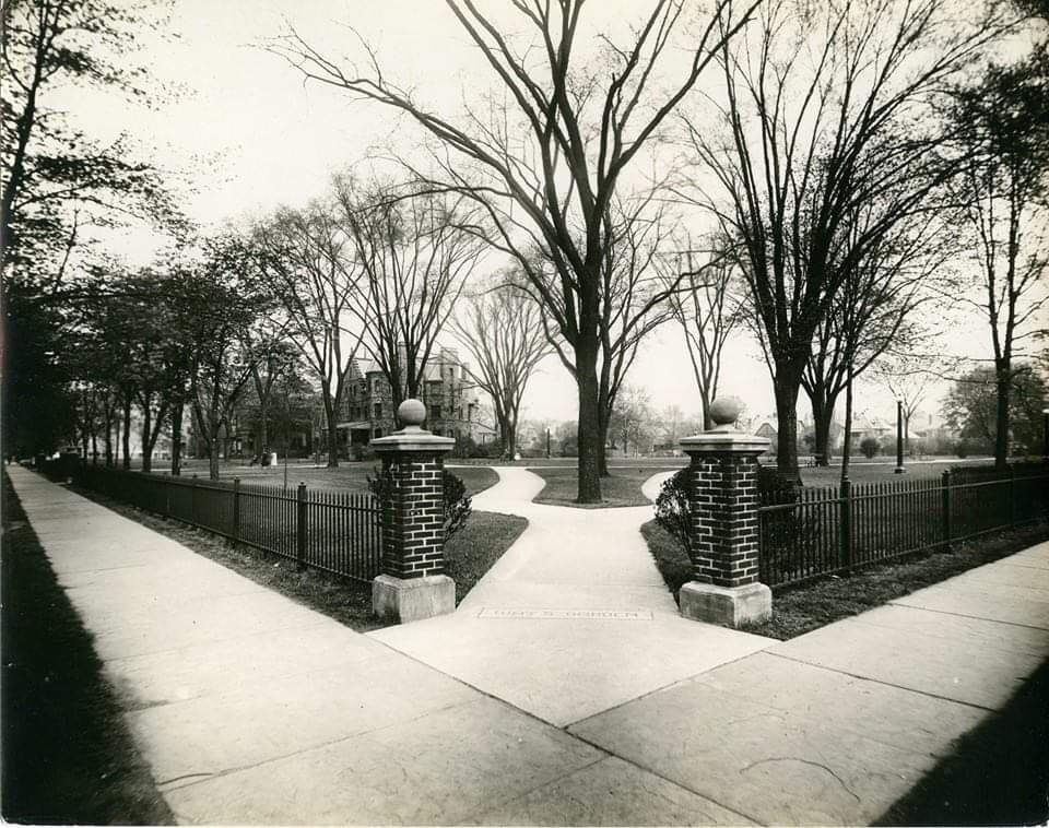 Way's Garden Circa 1930s, Northeastern corner
