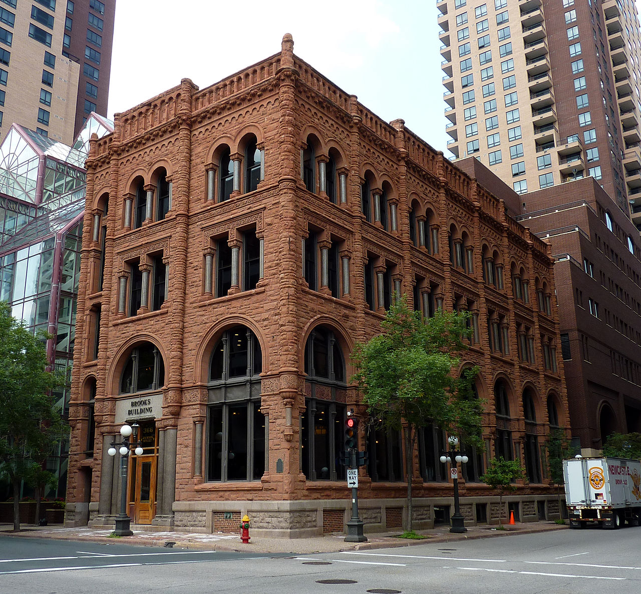 The Brooks Building, as it is known today, was built in 1892 and is significant in terms of architecture as well as economic and political history.
