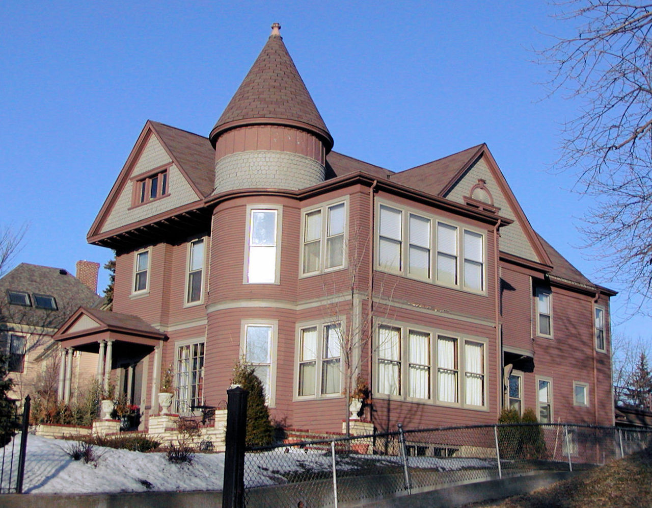 The Andrew R. McGill House was built in 1888 by its namesake, who served as governor from 1887-1889.
