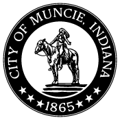 """This is the city seal of Muncie, Indiana. """"Appeal to the Great Spirit"""" has been on the Muncie city seal for decades."""