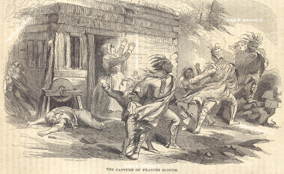 An interpretive drawing used in a newspaper publication from 1869.