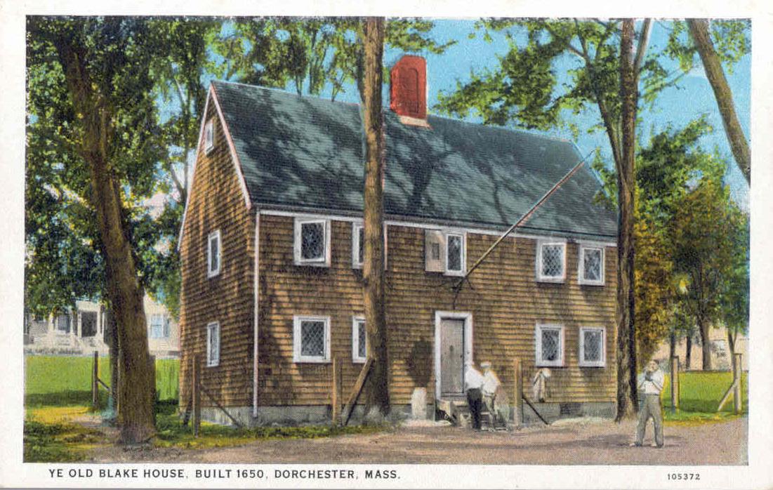 James Blake House, circa 1920  (Courtesy of the Dorchester Historical Society)
