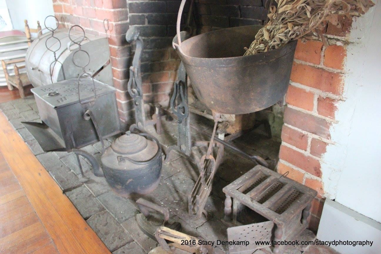 Cooking area of the James Blake House, posted to their Facebook page courtesy of Stacy Denekamp