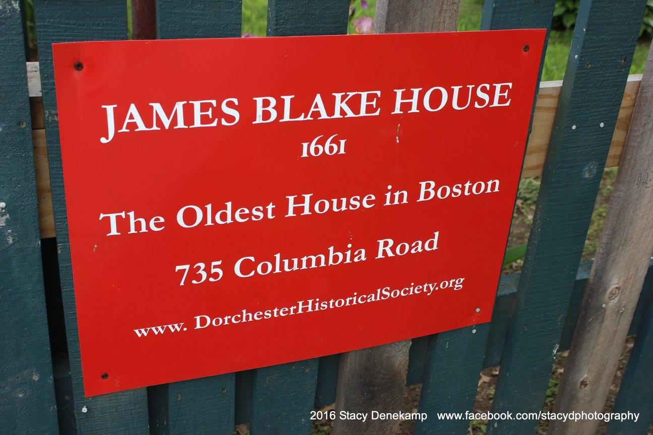Sign at the front of the James Blake House, posted to their Facebook page courtesy of Stacy Denekamp