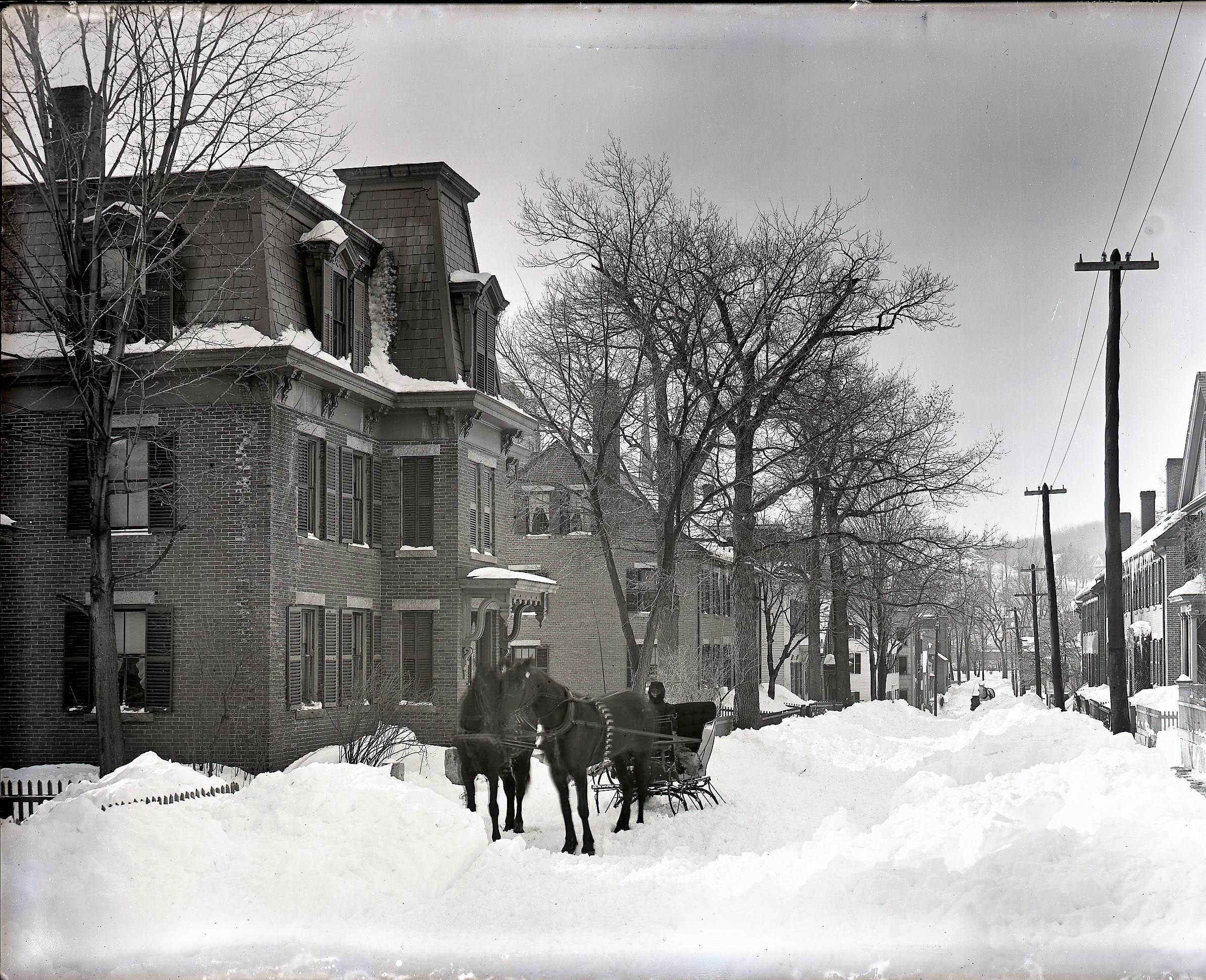 nearby Grove Street, 1890's