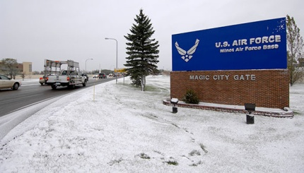Magic City Gate of Minot AFB.