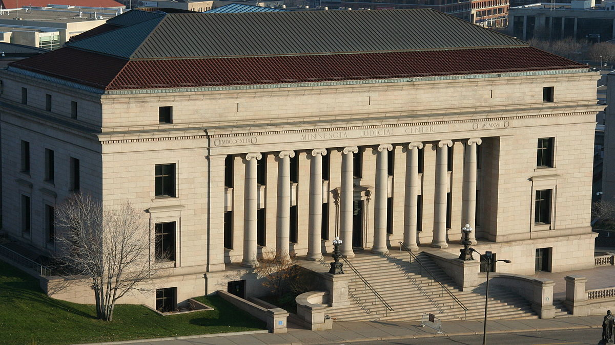 Formerly the home of the Minnesota Historical Society from 1917-1992, the Minnesota Judicial Center is now the state court building.
