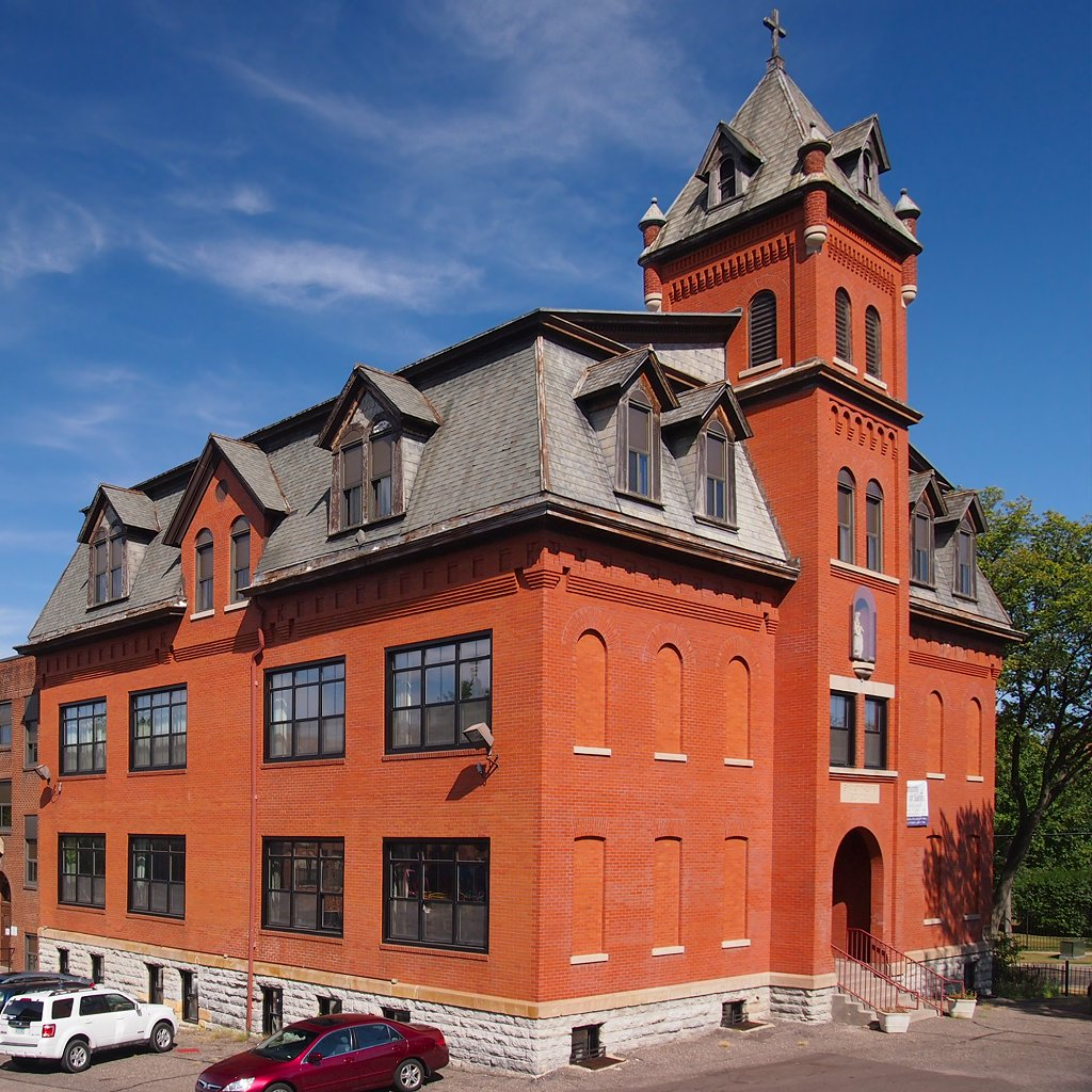 Saint Matthew's School was built in 1902 to help serve the growing German immigrant community in St.  Paul.