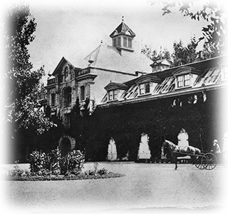 Inglenook Winery, circa 1887, upon the completion of the grand chateau