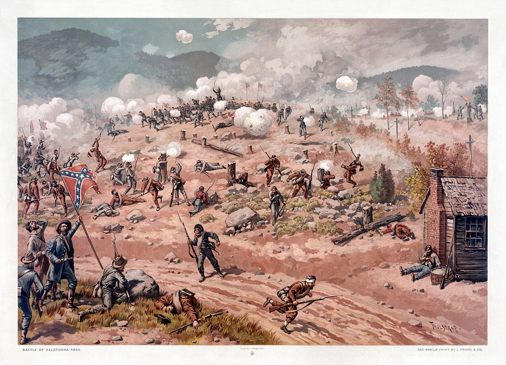 The Battle of Allatoona Pass