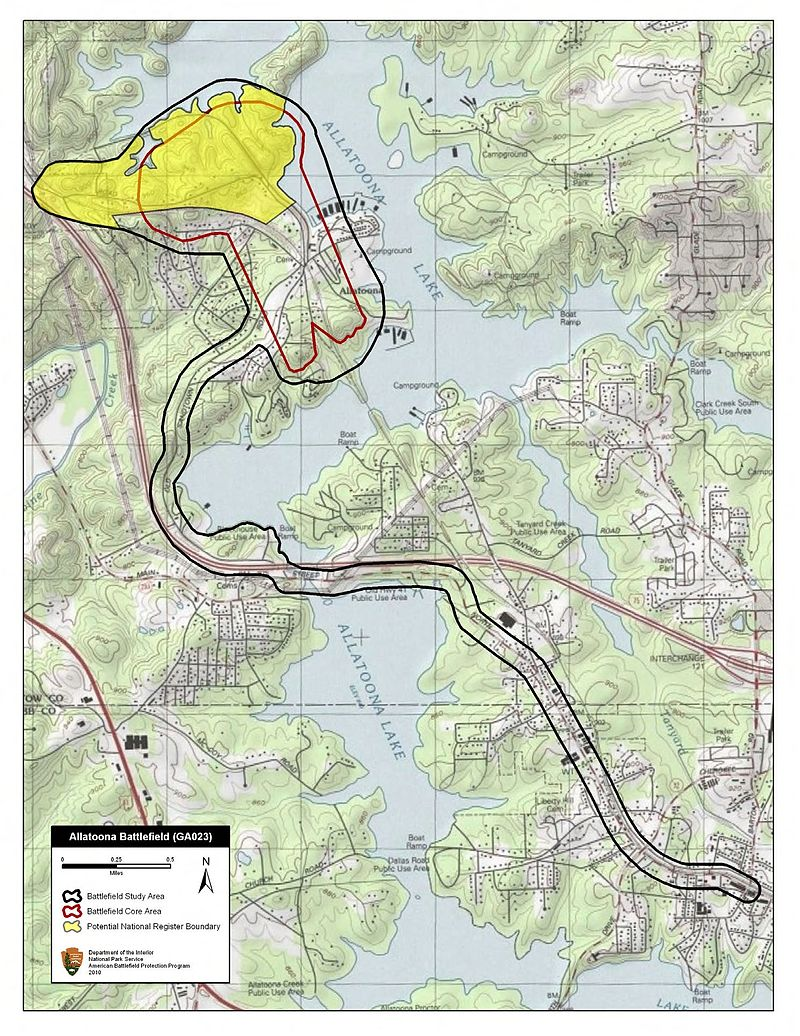 Allatoona Pass battlefield study