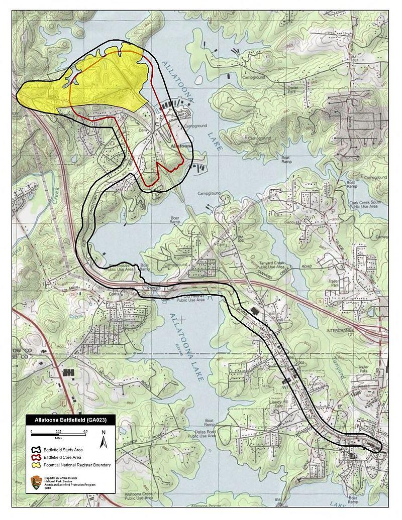 Allatoona Pass battlefield study