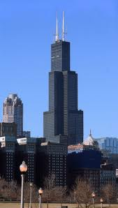 Panoramic view of the Willis Tower.