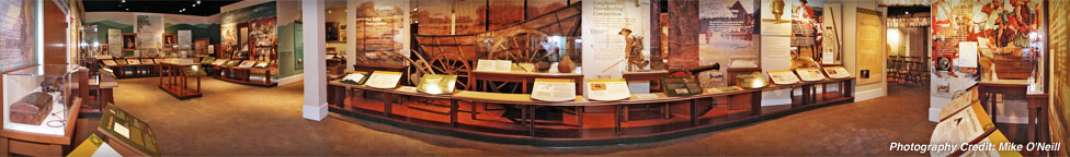 One section of East Tennessee History Center. Photo by Mike O' Neill.
