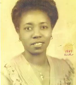 Bertha Pleasant Williams in 1943