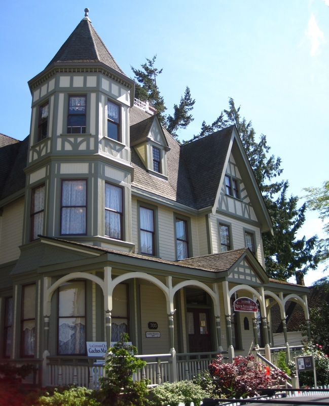 The Pacific Northwest Quilt & Fiber Arts Museum is housed in this beautiful historic home built in 1891.