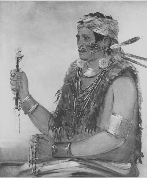 Another depiction of Tenskwatawa later in life