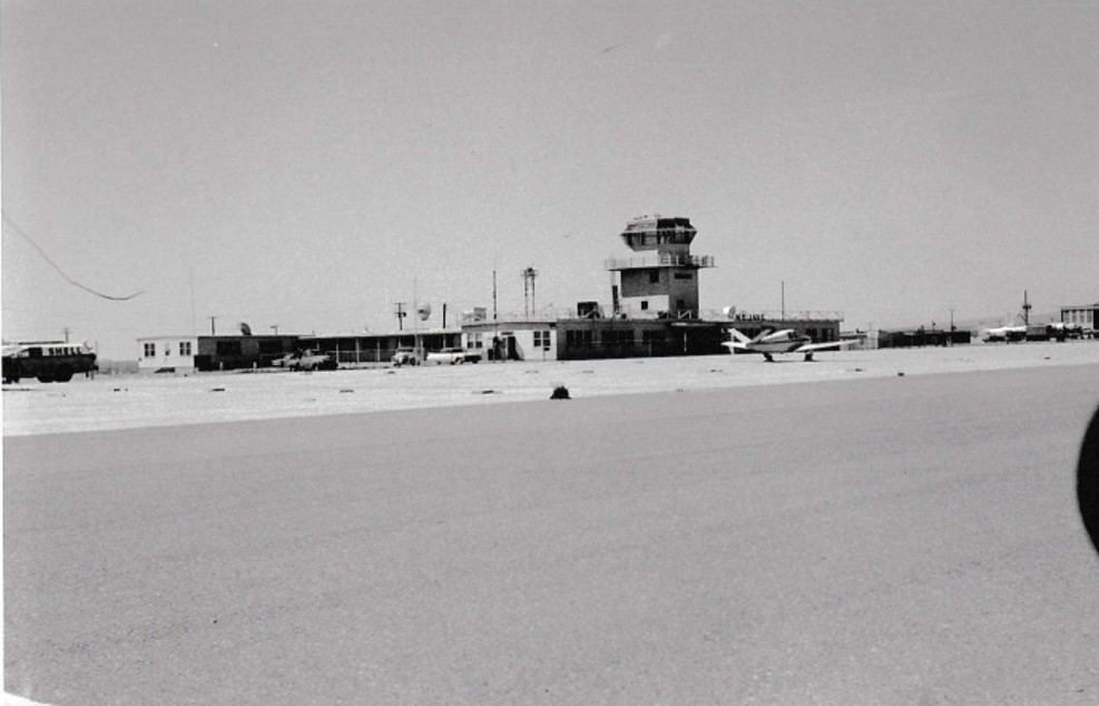 The Mojave airport used to aid in transporting gold and siliver
