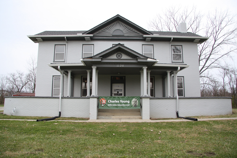 Charles Young lived in this house, which he named Youngsholm, from 1907 until his death in 1922. It was constructed sometime in the 1830s.