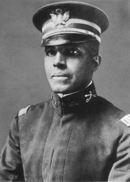 A picture of Charles Young before leaving for his assignment in Sequoia National Park in 1903.
