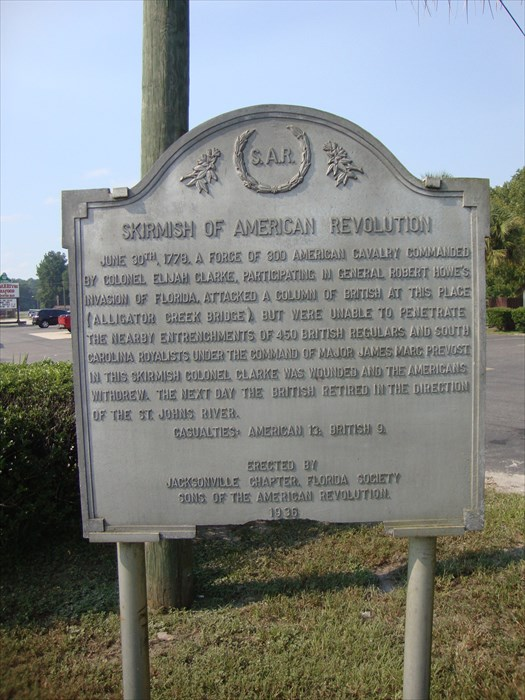 This is the battle marker right next to the bridge.