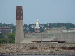 Dubuque's Shot Tower was completed in 1856