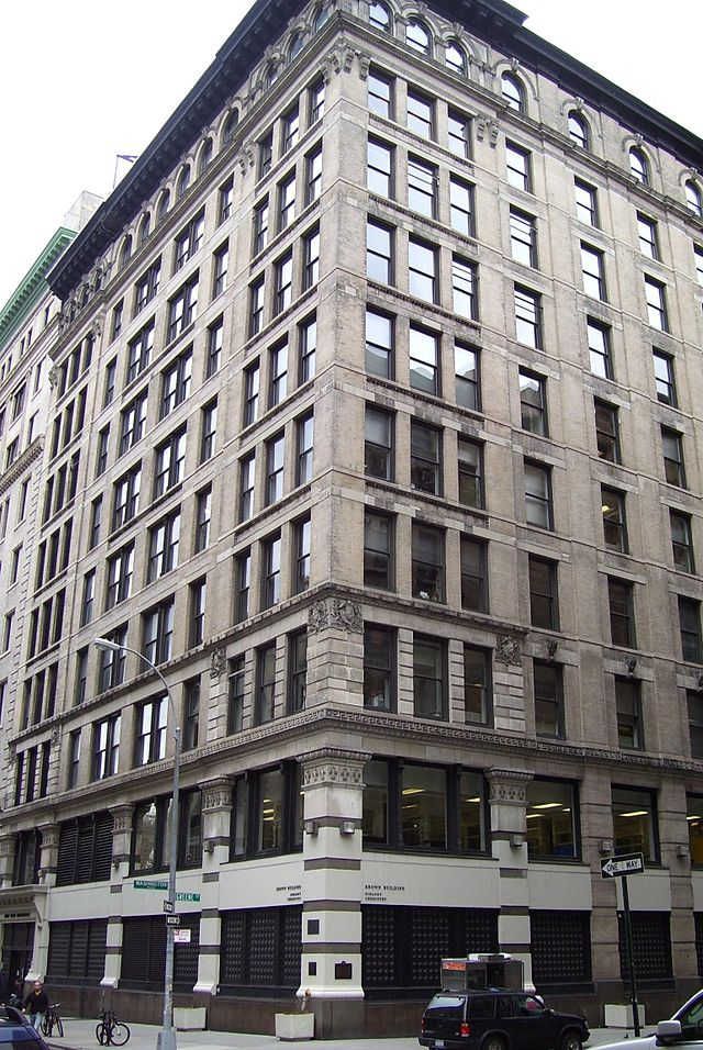 The building was constructed in 1900 and known as the Asch building at the time of the fire. The building is now part of the NYU campus.