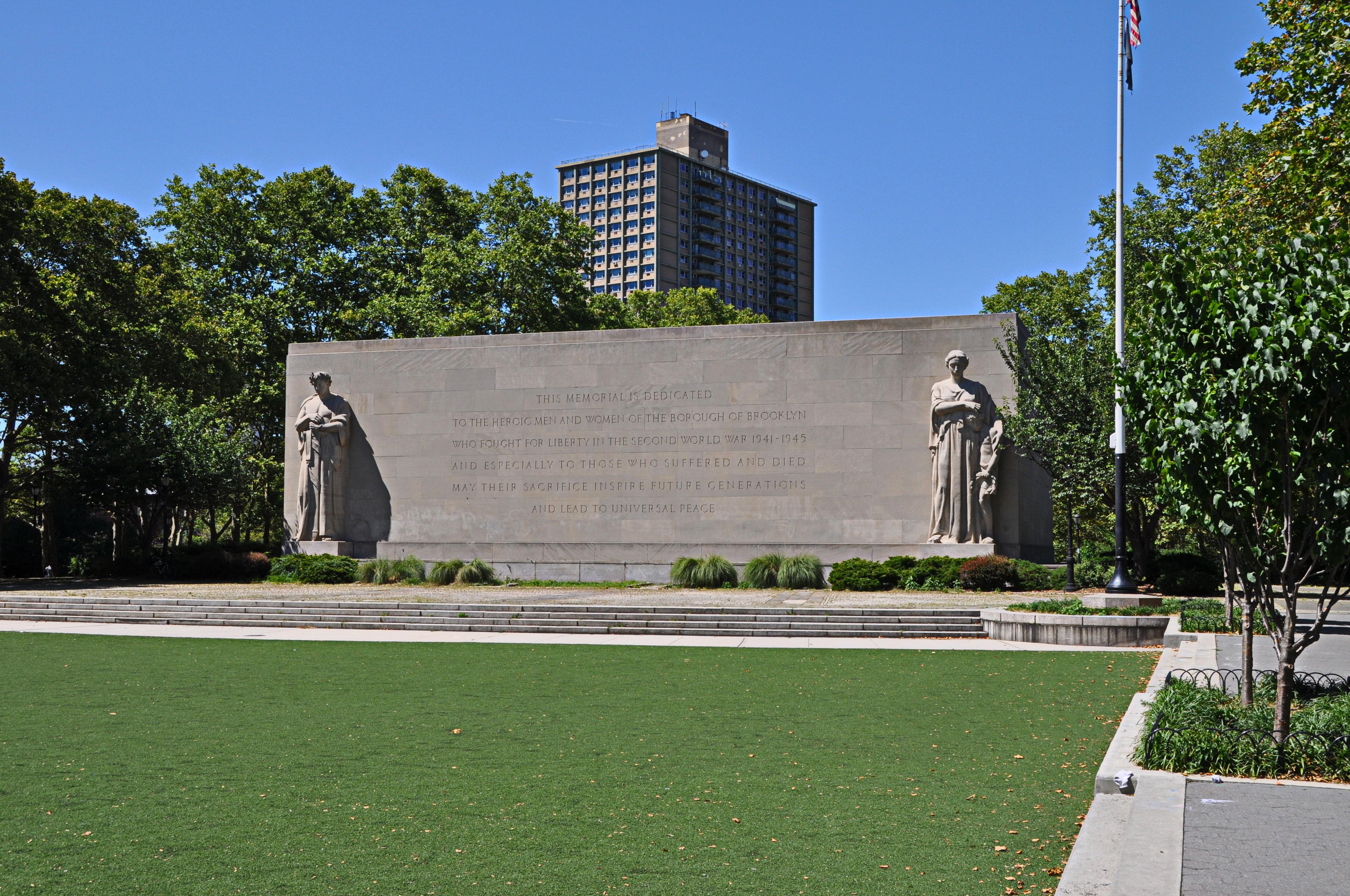 The Brooklyn War Memorial