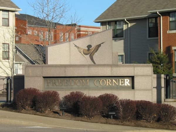 Exterior of Freedom Corner (2011)