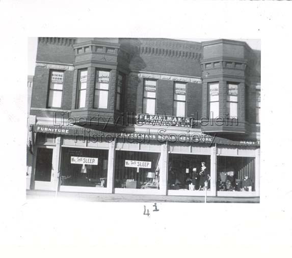 Flegelman's Department Store, 1955