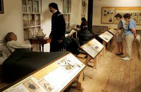 Exhibit of a Union military hospital