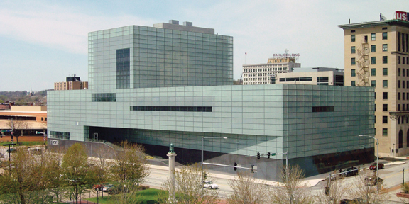 The Figge Art Museum was established in 1925 and has grown to become the premier art museum between Chicago and Des Moines.
