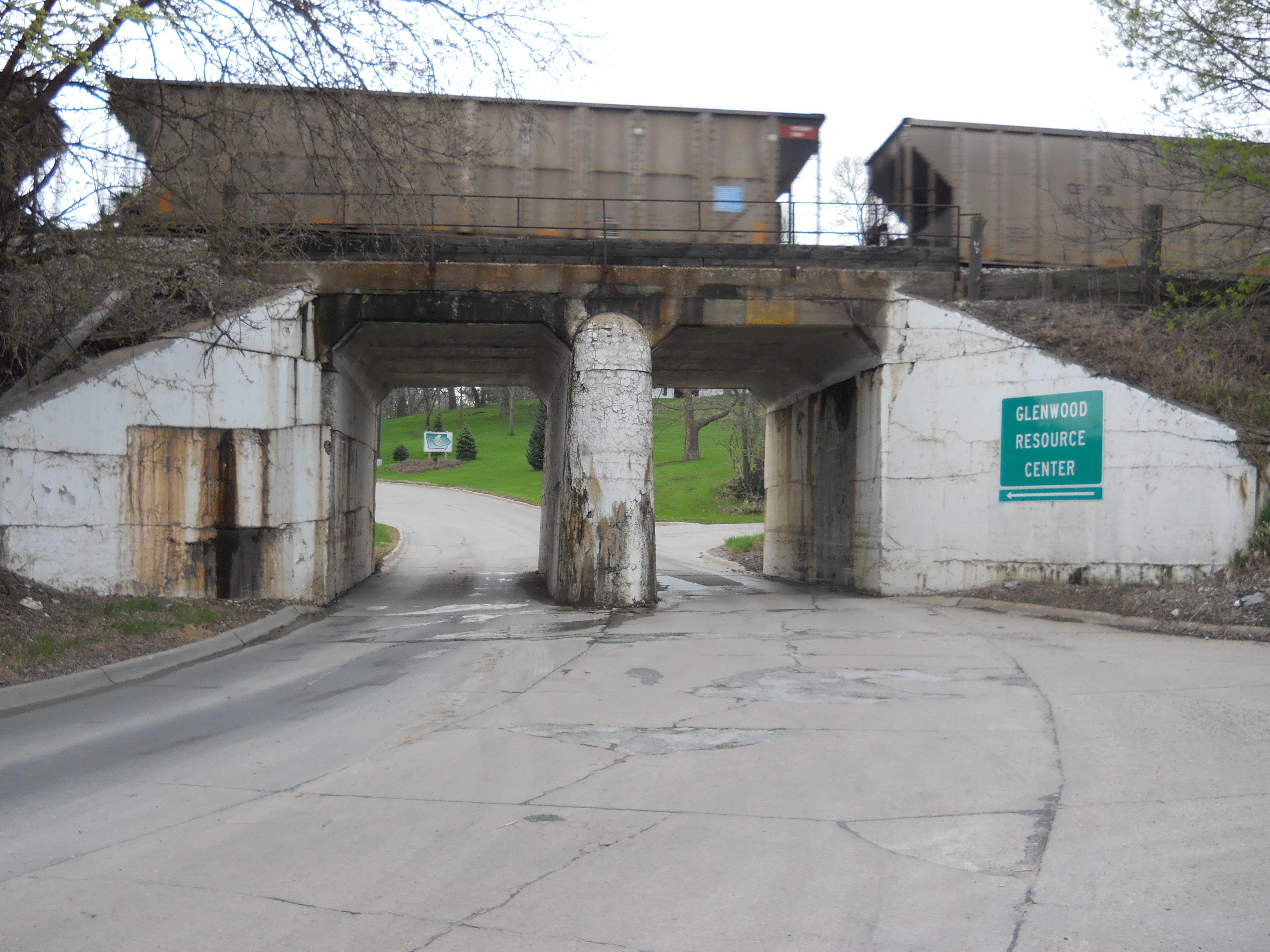 Southern entrance to Asylum.