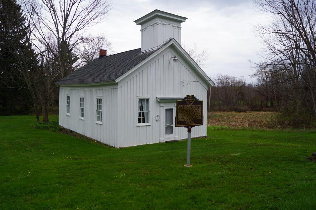 South Newbury Union Chapel Ohio Historical Marker