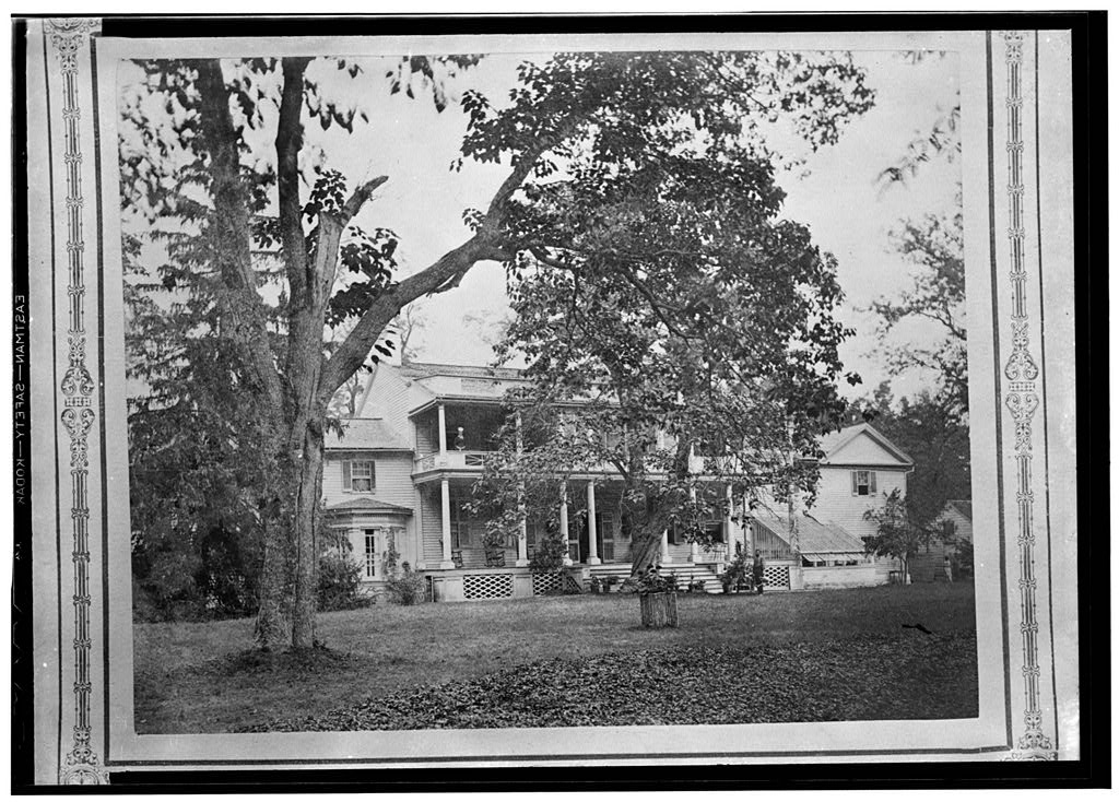 Ravensworth ca. 1937, Historic American Buildings Survey (no known copyright restrictions)