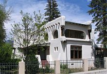 The Glorious Exterior of the Taos Art Museum/Fechin House
