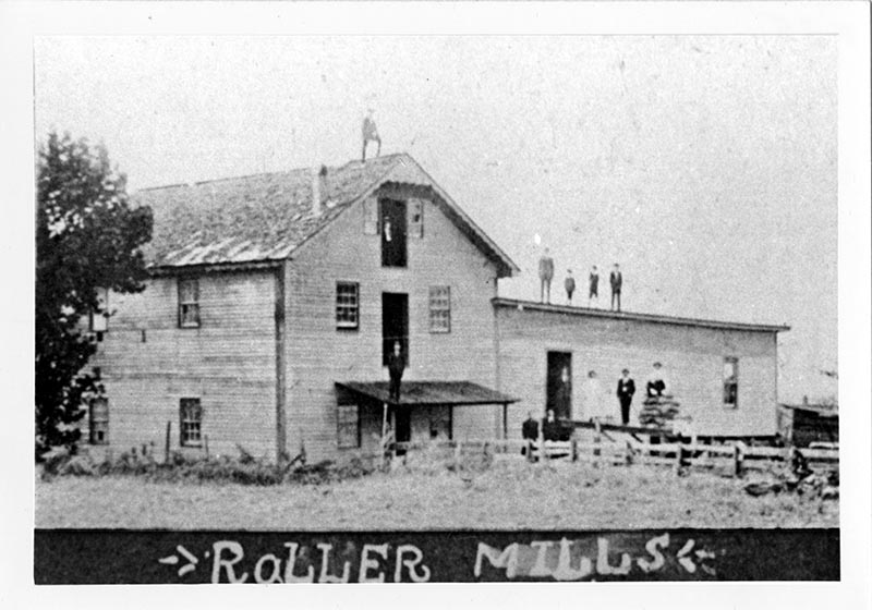 The Old Mill When Roller Mills Were Added, ca. 1889