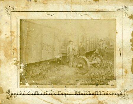 Workers at ACF, circa 1900