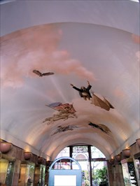 1988 Mural commissioned for the ceiling