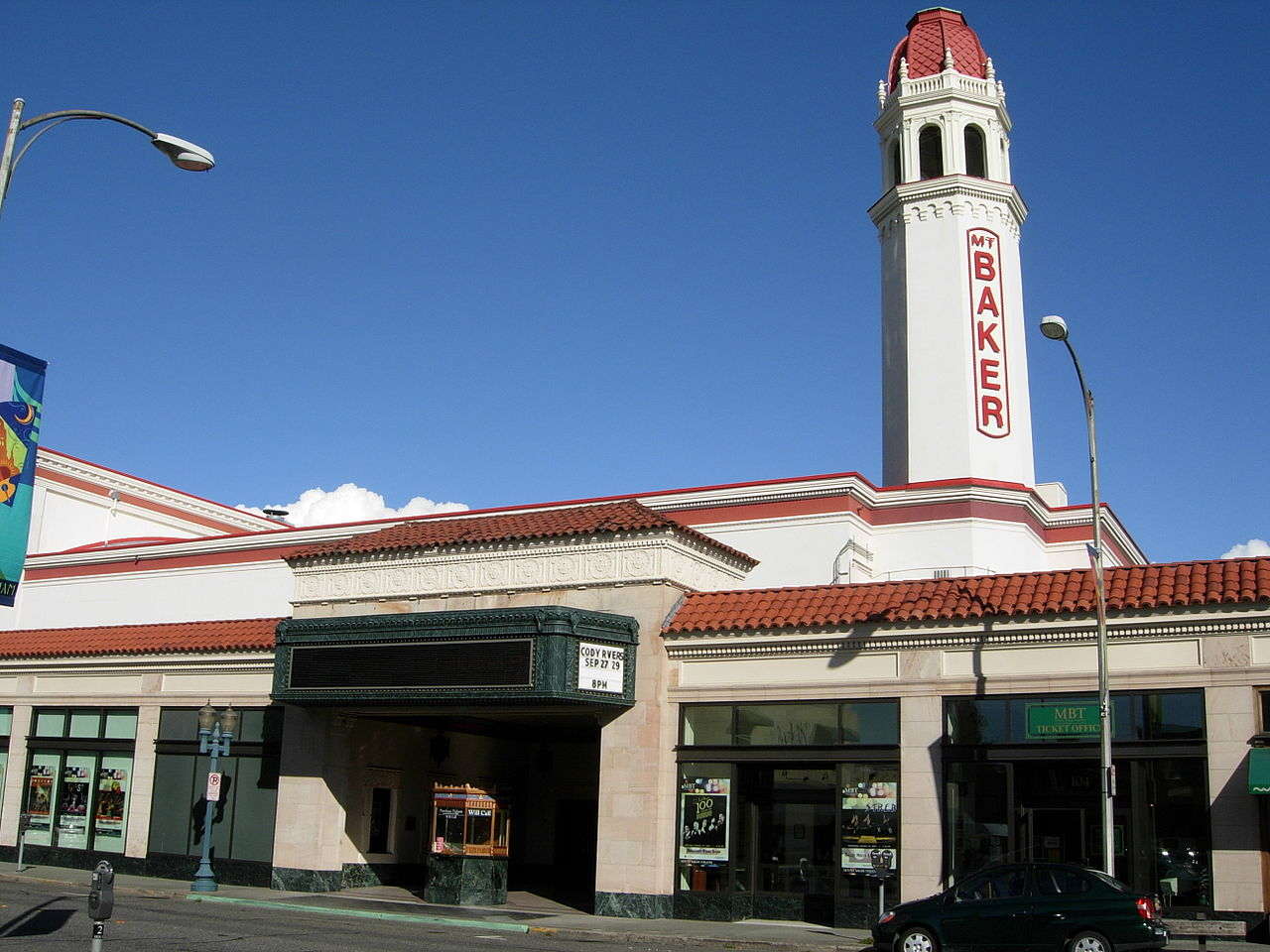 Mount Baker Theatre was built in 1927 and is the last movie palace still standing in the Pacific Northwest.